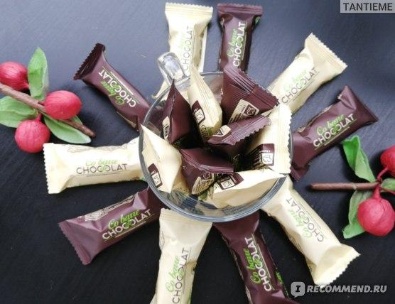 Конфеты ООО «В.А.Ш. ШОКОЛАТЬЕ+» Co barre de Chocolat Мультизлаковые с темной глазурью фото