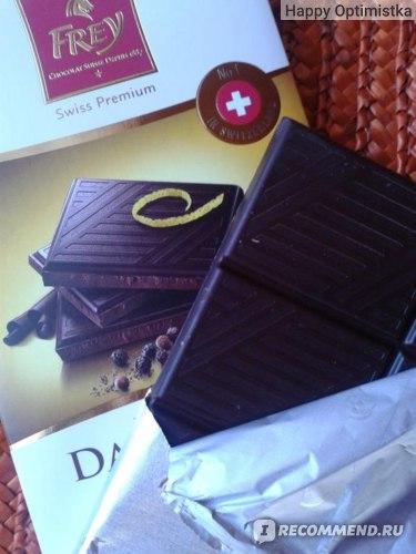Шоколад Frey Dark Lemon&Peper фото