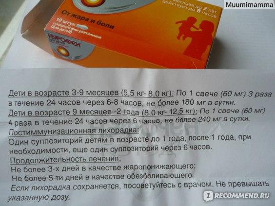 Нурофен для детей с трех месяцев допущен в двух лекарственных формах: суспензия и свечи (суппозитории), приобрести которые можно в аптеке без рецепта врача.