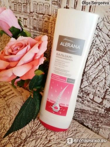 Бальзам-ополаскиватель для волос Alerana Глубокое восстановление  фото