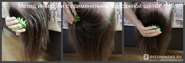 Щетка-массажер IKEMOTO BRUSH для мытья волос и кожи головы с маслом авокадо фото