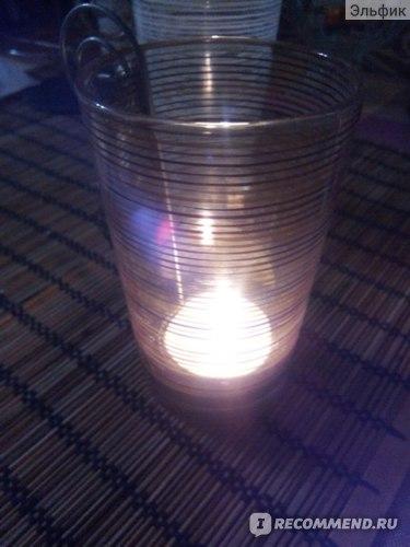 Ароматизированная свеча IKEA ТИНДРА фото