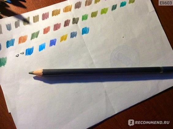 """Цветные графитовые карандаши """"Сонет"""" фото"""