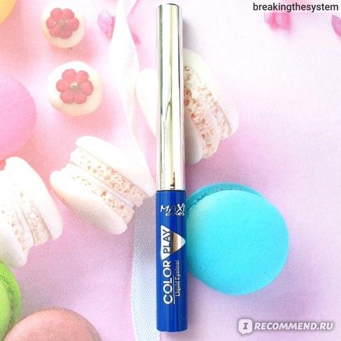 Подводка для глаз Maxi color liquid eyeliner фото