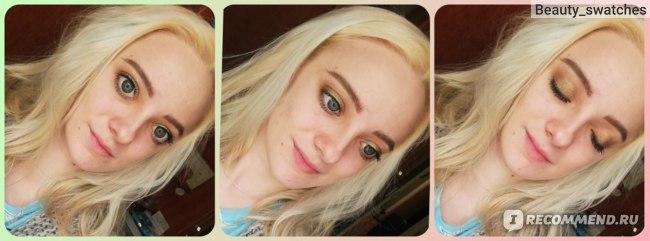 Палетка теней Natasha Denona Mini gold palette  фото