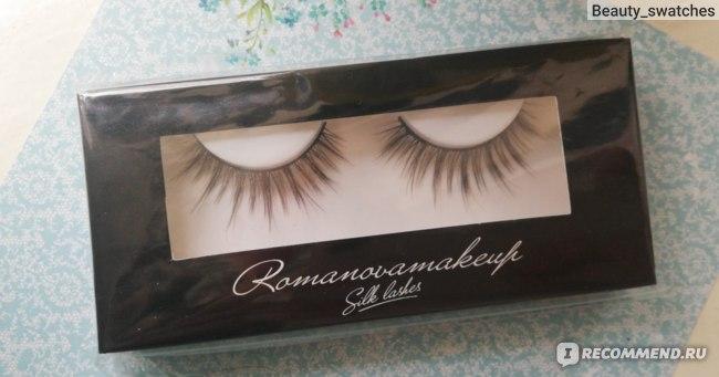 Ресницы накладные Romanovamakeup Silk lashes s-10 фото