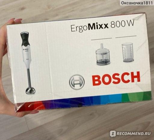 Блендер погружной BOSCH ErgoMixx 800W MS6CA4120 фото