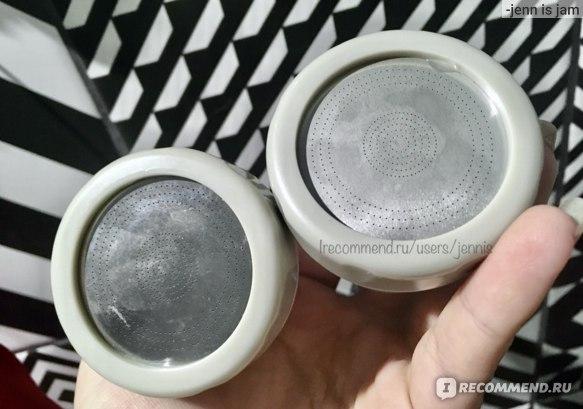 Аэратор Aliexpress  Насадка на кран для экономии воды 360°Rotatable Bent Water Saving Fauce Aerator Extended Hose Faucet Nozzle Bubbler For Kitchen Faucet Head фото
