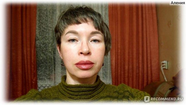Перманентный макияж губ - губы после первой процедуры