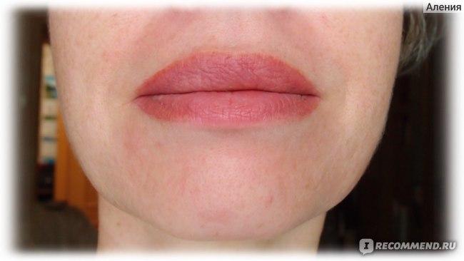 Перманентный макияж губы - через месяц после последней коррекции