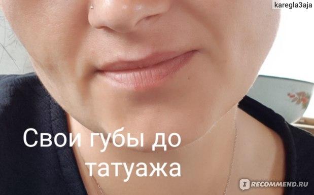 Татуаж губ фото