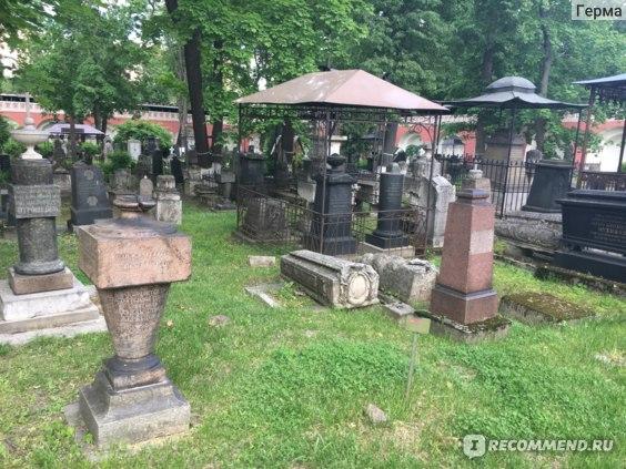 Старое Донское Кладбище, Некрополь, Москва фото