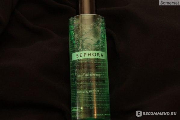 Тоник  Sephora  с экстрактом женьшеня 50/200мл фото