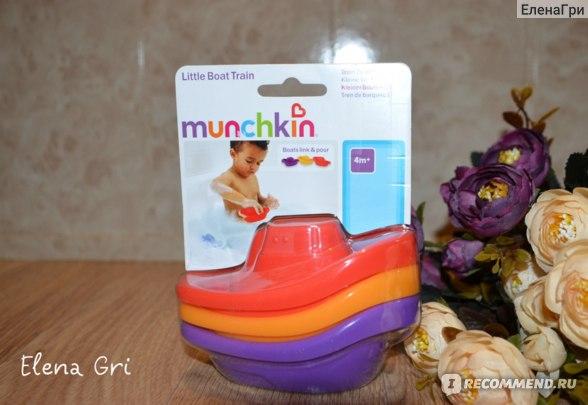 Munchkin игрушка для ванны лодочки 4+ фото
