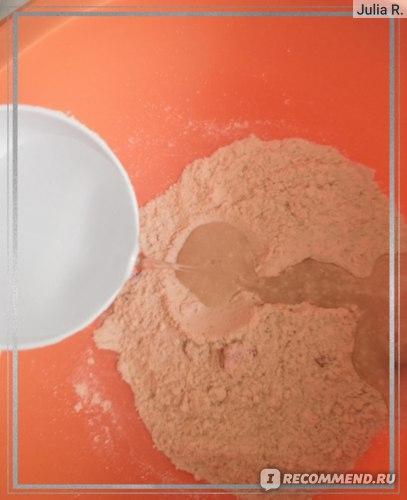 """Смесь протеиновая для приготовления панкейков Real will """"Клубника и белый шоколад"""" фото"""