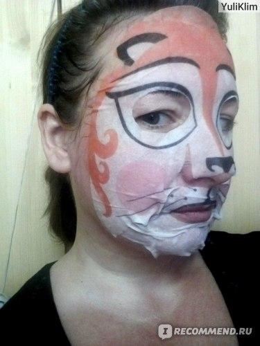 """Тканевая маска для лица ETUDE ORGANIX  Анимаска """"Лиса"""" балансирующая фото"""