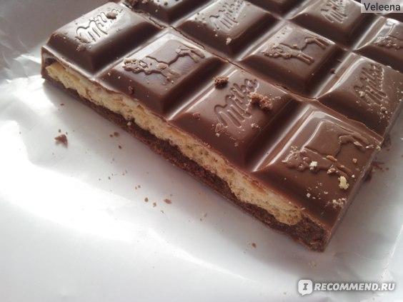 Шоколад Milka Choco-Swing Biscuit фото