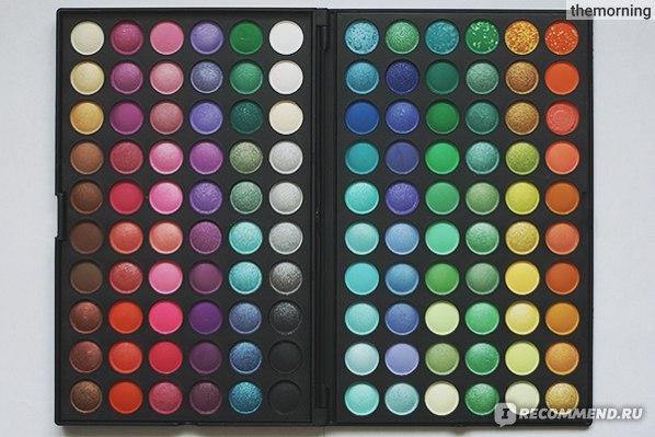 Палетка теней Buyincoins Pro 120 Full Color Eyeshadow Palette Fashion Eye Shadow фото