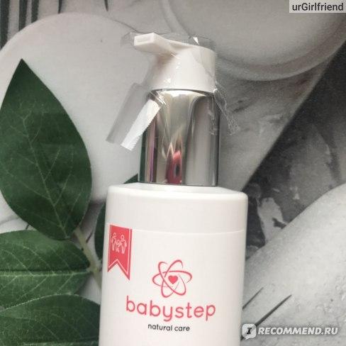 Детский гель для купания Babystep 0+ фото
