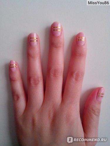 Лента для ногтей самоклеящаяся Lovely Артикул:5821007 фото