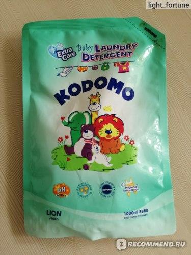 LION Кодомо Жидкое средство для стирки детских вещей отзыв