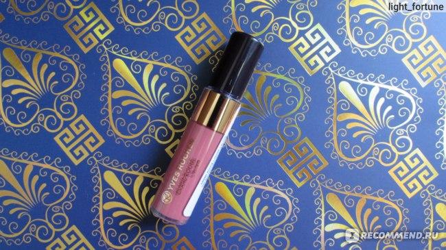 Лак для губ Ив Роше / Yves Rocher  с Матовым Эффектом GRAND ROUGE L'ELIXIR фото