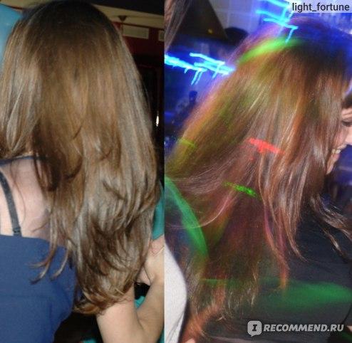 Укладка волос выпрямителем