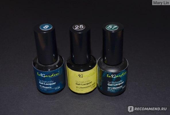 Гель-лак для ногтей In'Garden So Naturally Gel Lacquer фото