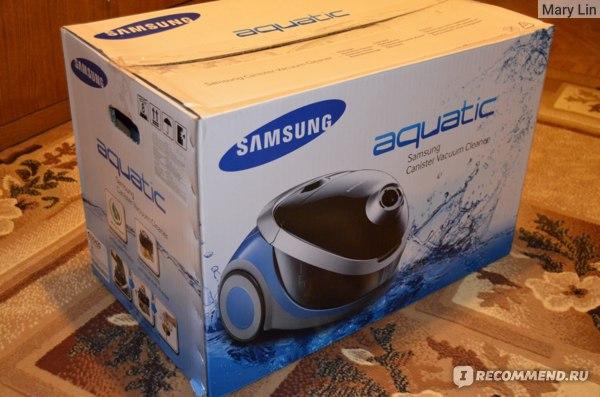Пылесос с аквафильтром Samsung  SD9420 фото