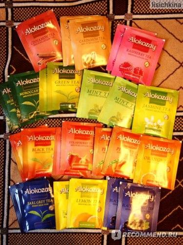 Чай в пакетиках Alokozay Набор пакетированного чая Ассорти Flavour Assortment фото