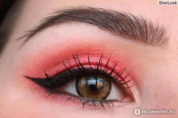 Цветные контактные линзы ADRIA Glamorous GOLD (цветные золотые линзы)