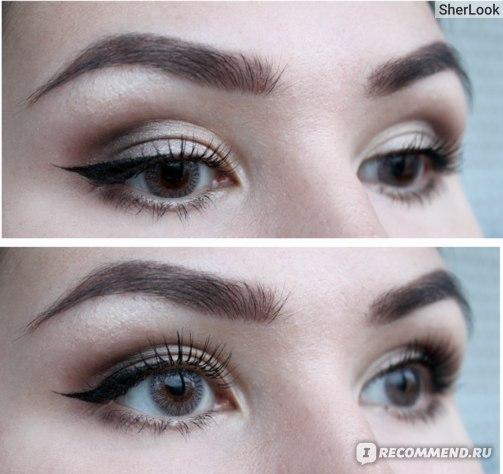 Оттеночные контактные линзы ADRIA Color 1 Tone Gray (серый) на карих глазах