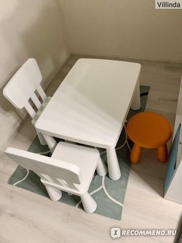 Детская мебель IKEA Маммут табурет детский фото