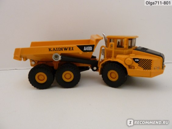Aliexpress Free shipping KAIDIWEI 1:8 7 trucks A40D alloy model toys Самосвал фото