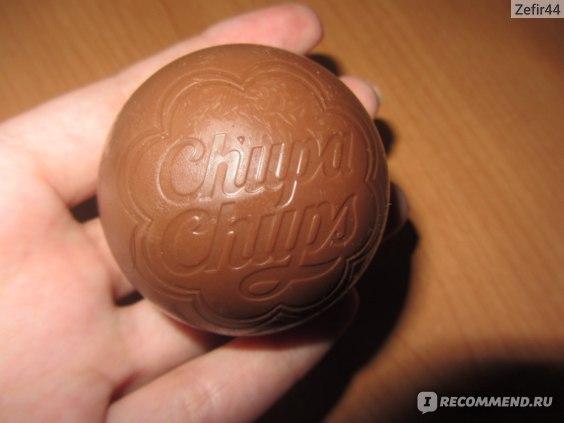 Шоколад Chupa Chups Шоколадный шар с сюрпризом фото