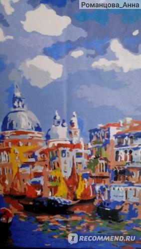 Картина для рисования по номерам Aliexpress Rainbow magic cube oil painting diy lovers decorative  digital oil mg фото