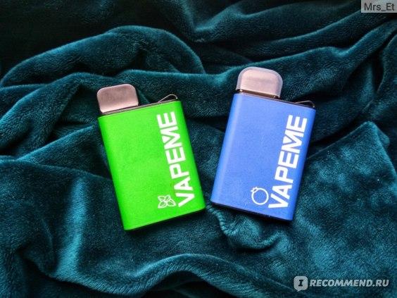 Vapeme одноразовая электронная сигарета женский мундштук для сигарет купить москва
