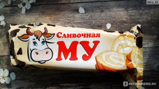 Бисквитный рулет Невский Кондитер Сливочная МУ фото