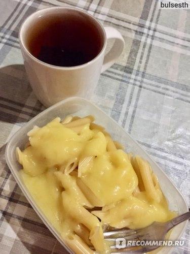 Макароны с веганским сыром