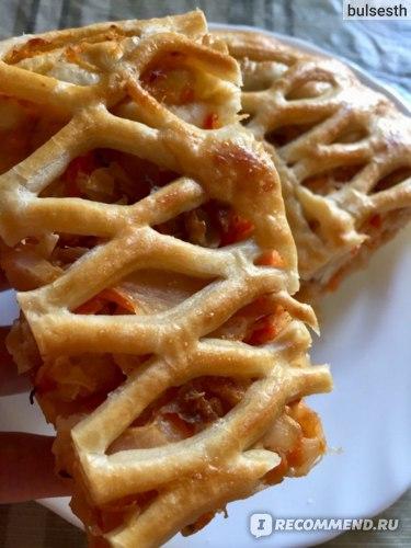 Пирог с капустой и грибами - нереальная вкуснятина, но так я тоже больше не ем из-за полного отказа от молочки