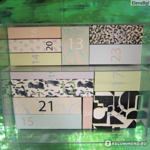 Адвент-календарь ASOS На 24 дня с набором средств по уходу за лицом и телом фото