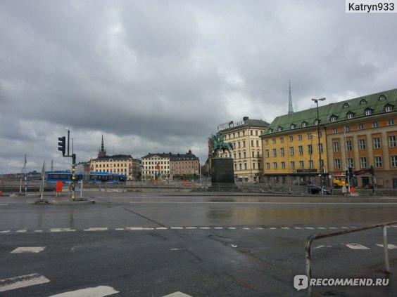 пасмурно, Стокгольм