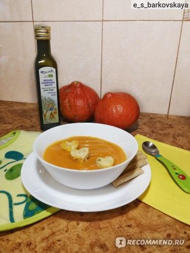 Крем-суп из тыквы. Блендер-пароварка KITFORT KT-2305