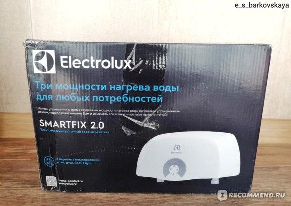 Водонагреватель проточный Electrolux Smartfix 2.0 3.5 S