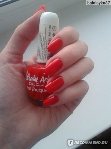 Лак для ногтей Catherine Arley Nail Lacquer фото