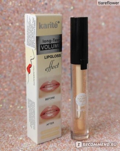 Блеск для увеличения губ Karite Long Term Volume фото