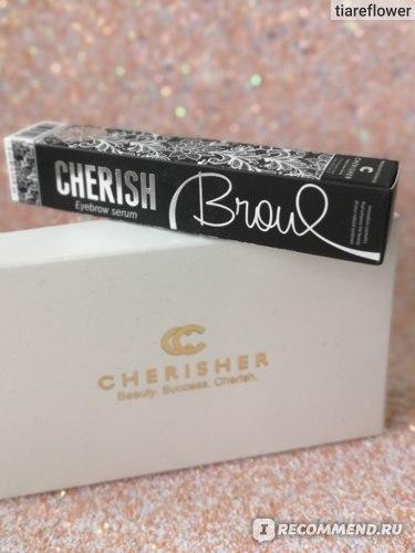 Кондиционер для роста бровей Cherisher Cherish Brow фото
