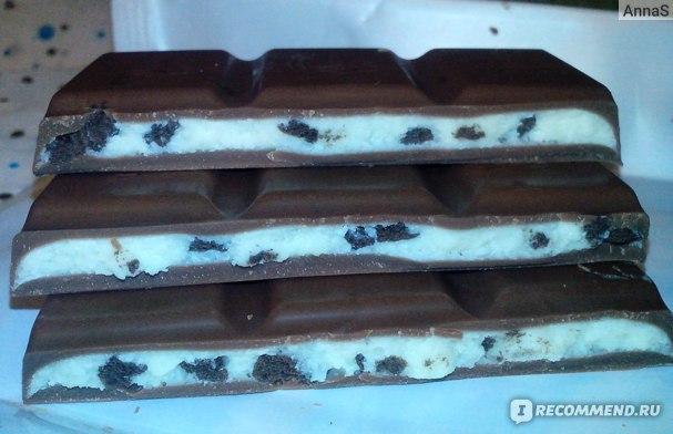 Молочный шоколад Alpen Gold OREO фото