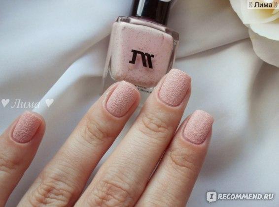 Профессиональный лак для ногтей Masura жидкий песок  фото