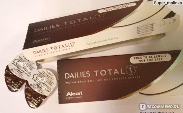 Контактные линзы Однодневные Alcon DAILIES Total1 фото